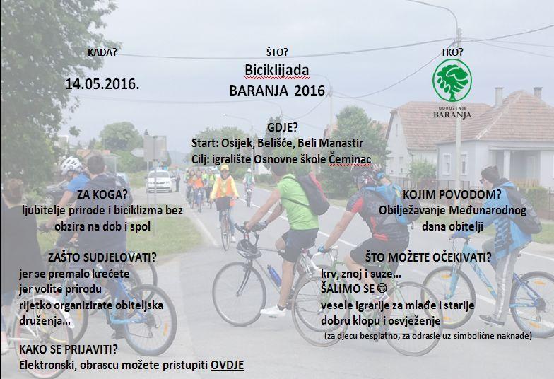 plakat za biciklijadu 2016